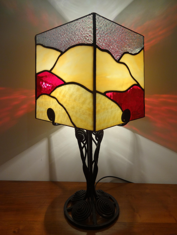 "Lampe Vitrail ""Tiffany"""