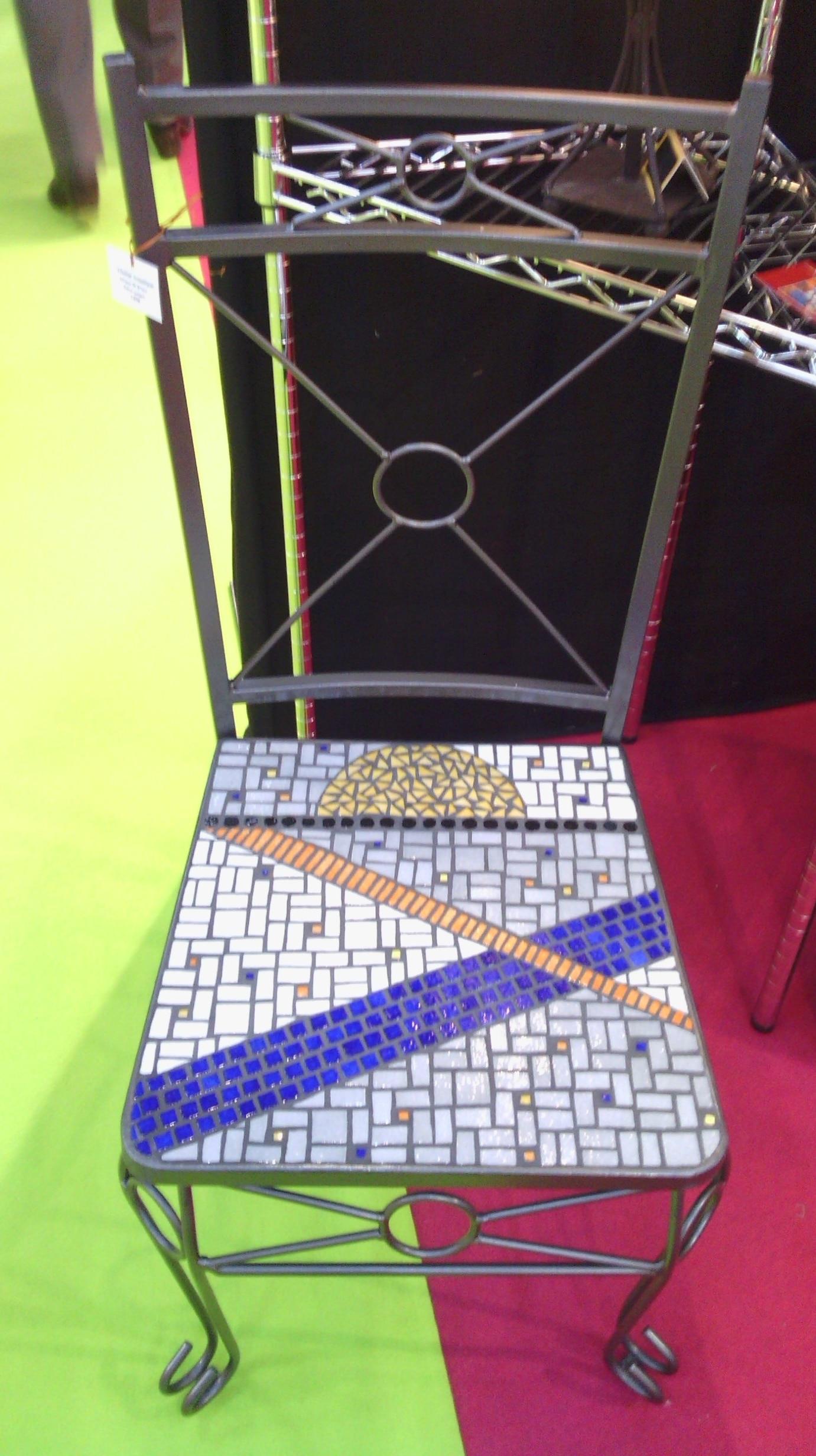 Chaise mosaïque