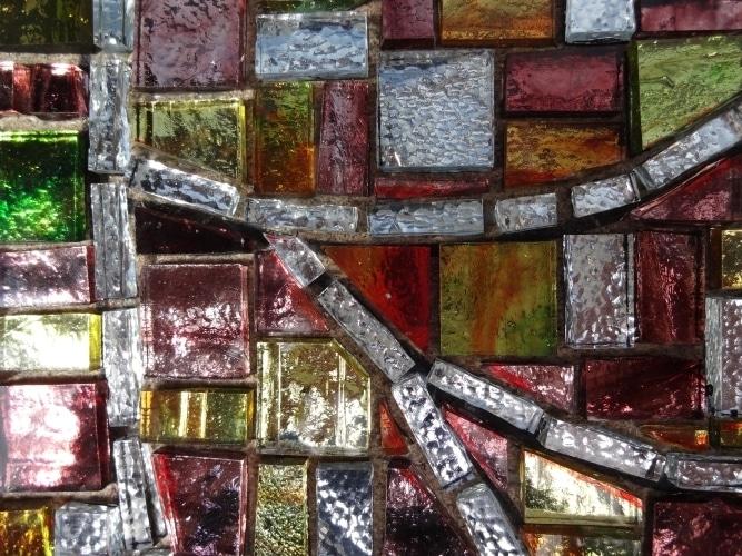 Miroir Mosaique_Pate verre_Parme507