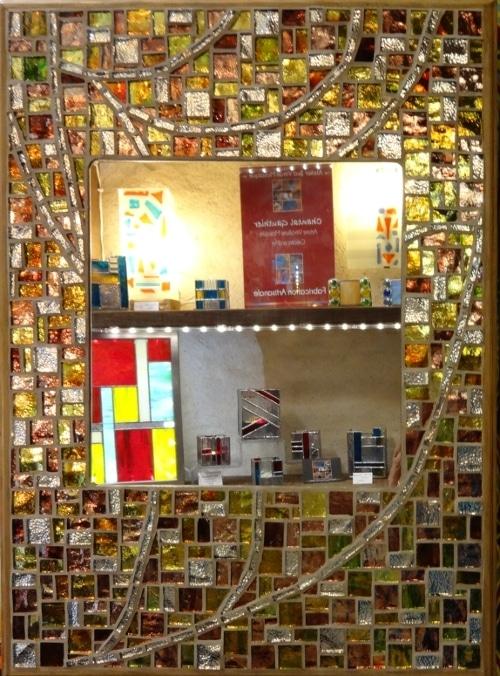 Miroir Mosaique_Pate verre_Parme511