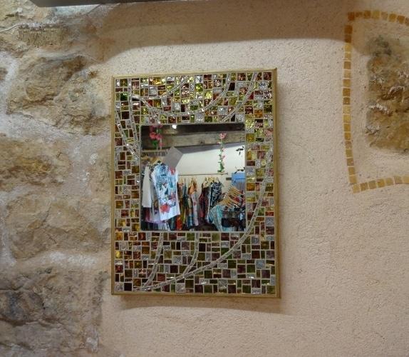 Miroir Mosaique_Pate verre_Parme512