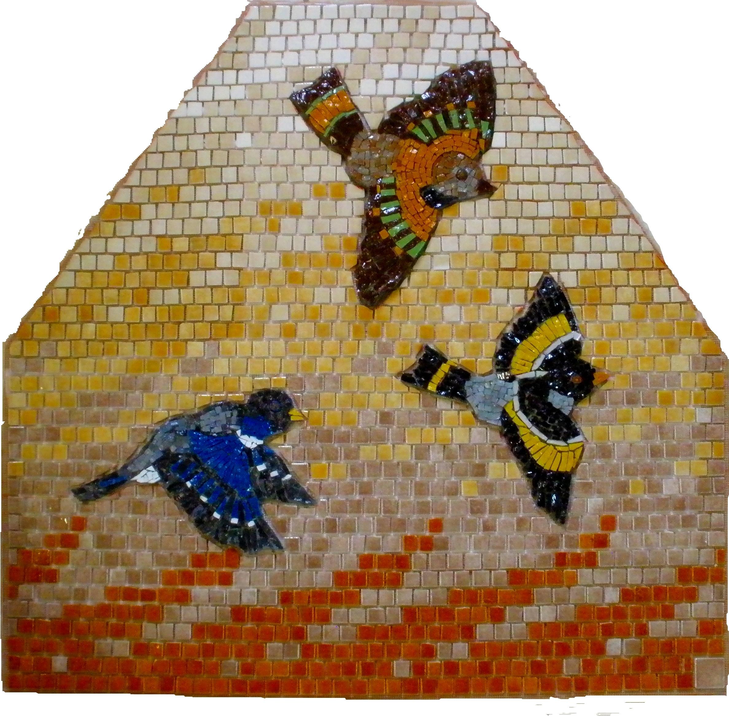 Mosaique Emaux de Briare et smalts_Envol1