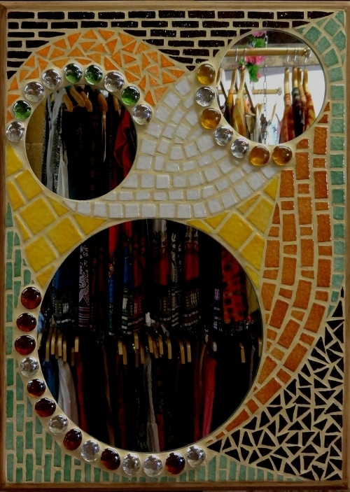 Mosaique_Miroir Hibou_Emaux Briare_7
