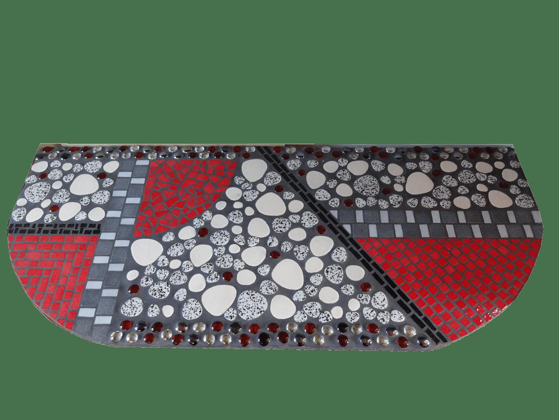 Mosaique_Plateau console_Art déco