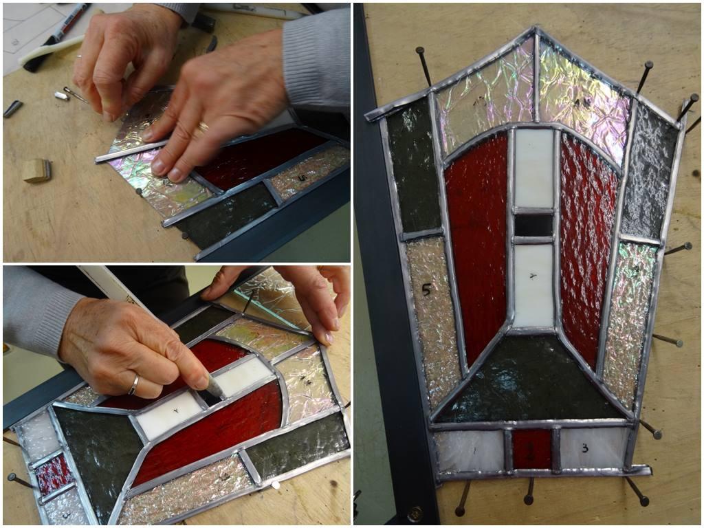 Stage d'initiation au Vitrail selon la méthode traditionnelle au plomb à Atelier Sud Vitrail Mosaïque