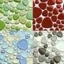 Galets de verre