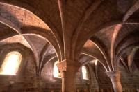 Salle capitulaire de l'Abbaye de La Celle