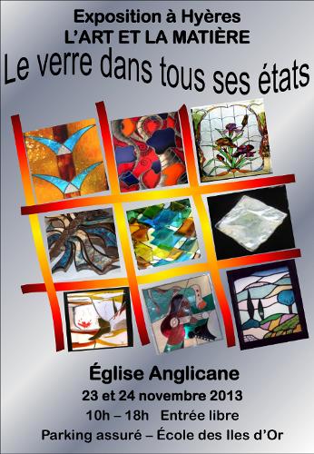 Exposition l'Art et la Matière
