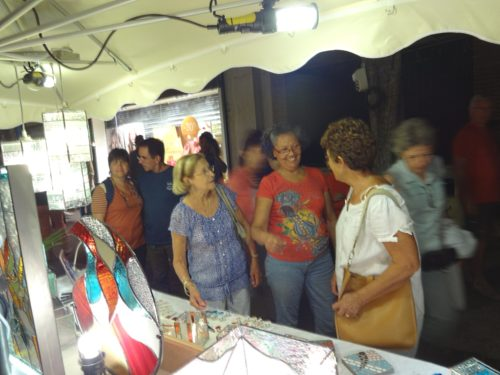 Des clients qui aiment les créations Sud Vitrail Mosaïque !!!