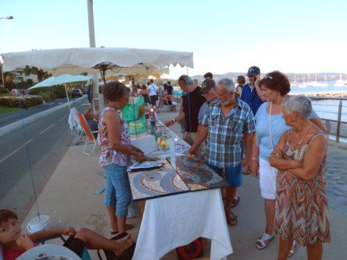 Marché Cavalaire (promenade mer)