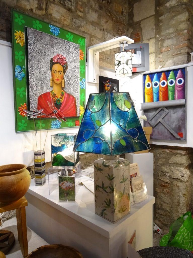 Sud Vitrail Mosaïque et l'Entresol à La boutique éphémère de Noël - Cordes-sur-Ciel