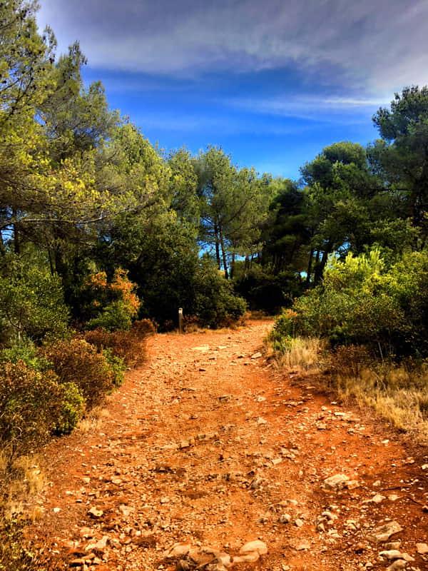 Provence : sentier de randonnée