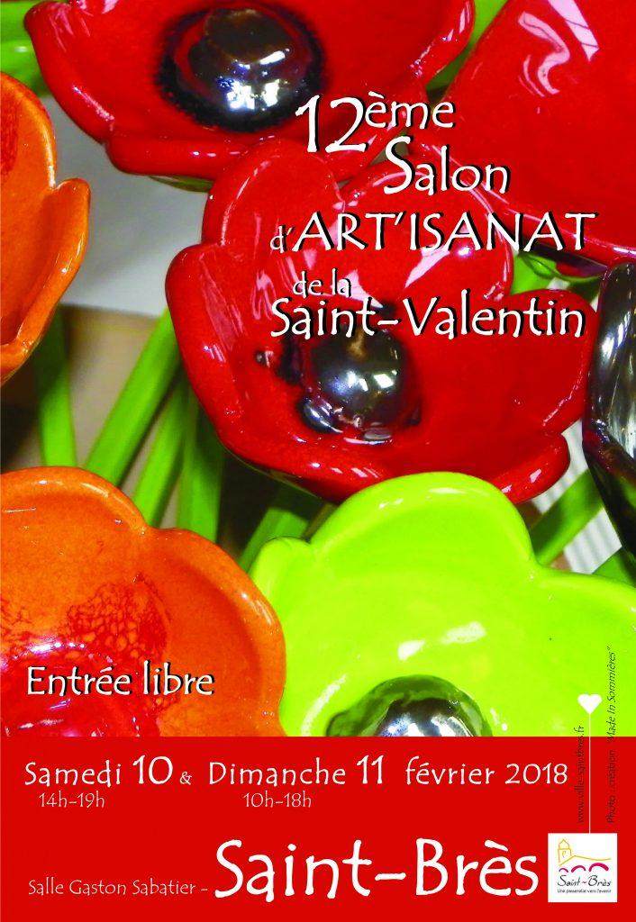 L'atelier Sud Vitrail Mosaïque participe au Salon d'Artisanat de la St Valentin
