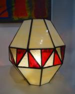 Lampe vitrail Tiffany Montgolfière