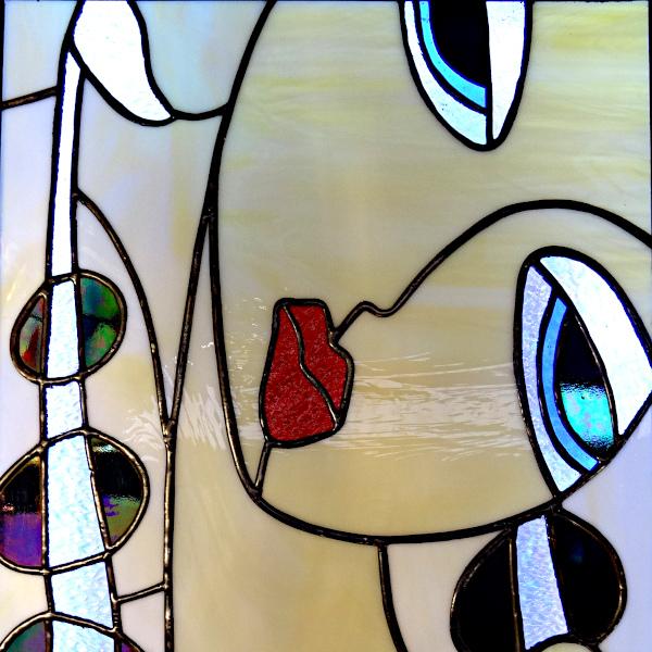 Tableau lumineux en vitrail Tiffany - Sudvitrailmosaique