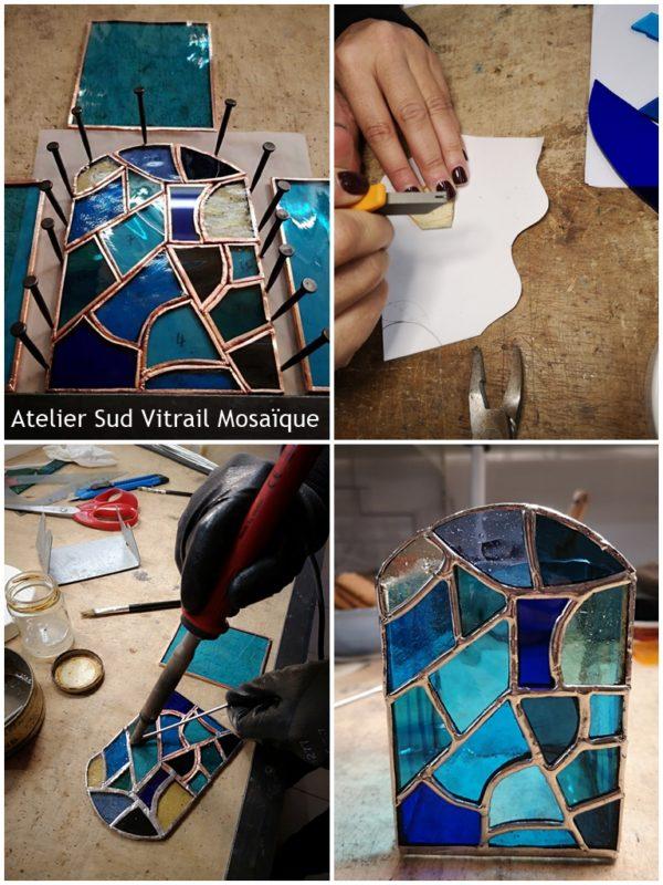 Formation Vitrail en Journée découverte - Sud Vitrail Mosaique à Brignoles Var