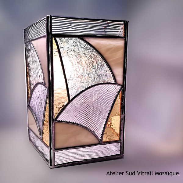 Applique Vitrail Tiffany - Sud Vitrail Mosaique