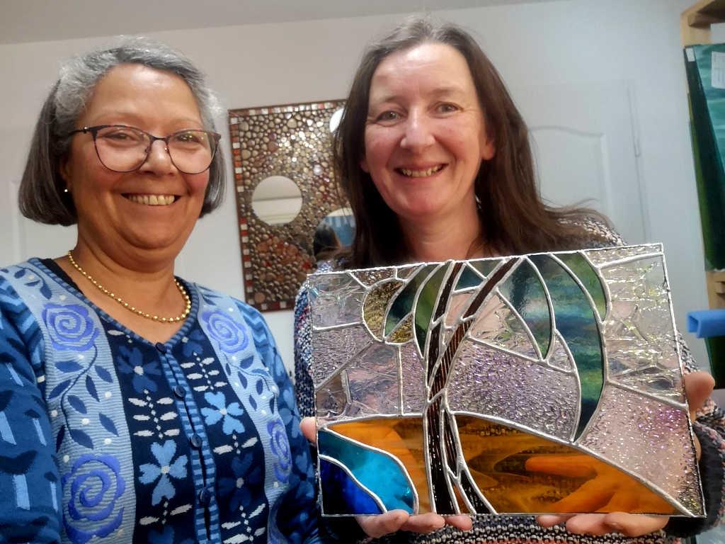 Vitrail tiffany- Journée découverte en mars 2020 à l'Atelier Sud Vitrail Mosaïque