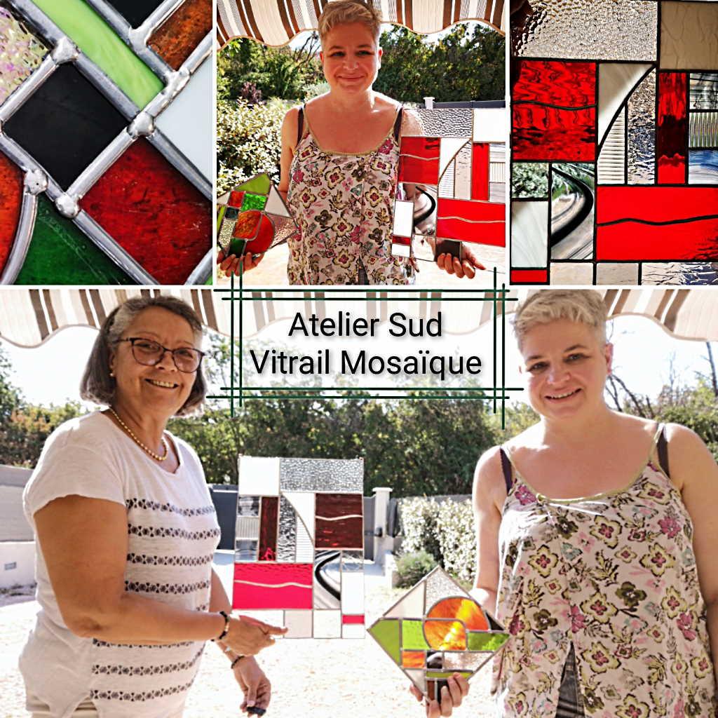 Formation-Vitrail - Session Août 2020 - Atelier Sud Vitrail Mosaïque