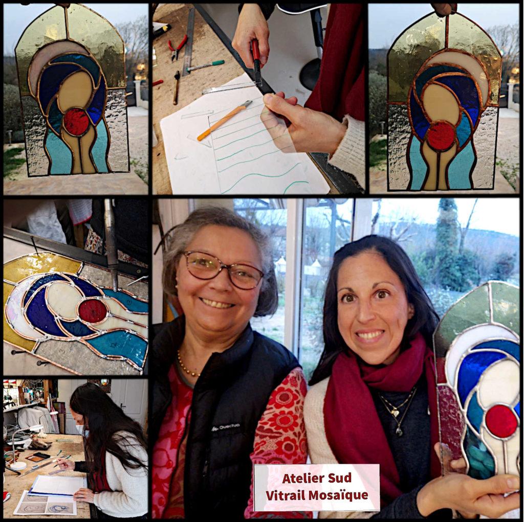 Journée découverte Vitrail Tiffany -Sud Vitrail Mosaique