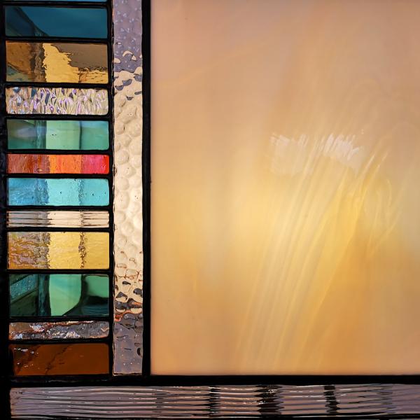 Détail lampe Vitrail Tiffany- Sud Vitrail Mosaique